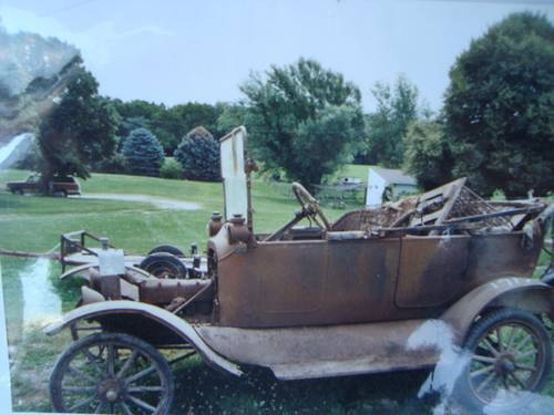 1917 Ford Model T Touring Car For Sale (picture 1 of 6)