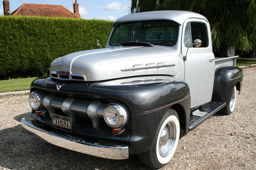 1952 Ford F100 V8 Auto Pick Up Truck NOW SOLD,MORE  Wanted (picture 1 of 6)