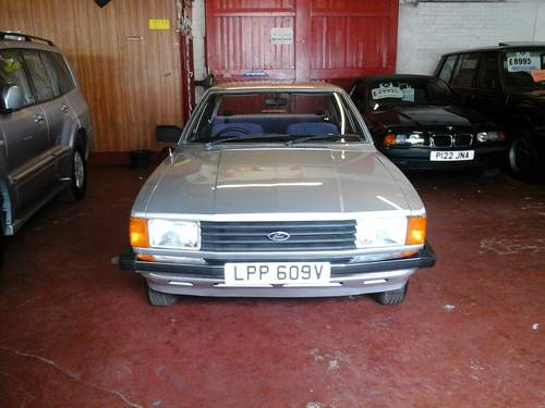 1980 V FORD CORTINA , 1.6L 4 DOOR,   For Sale (picture 1 of 6)