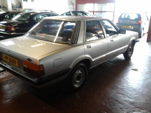 1980 V FORD CORTINA , 1.6L 4 DOOR,   For Sale (picture 3 of 6)