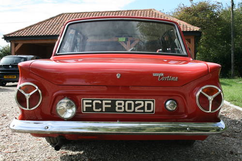 1966 Mk1 Ford Cortina 1500 GT. NOW SOLD,OTHERS EXAMPLES Wanted (picture 6 of 6)