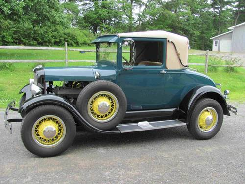1928 Ford Model A Sport Coupe For Sale (picture 1 of 6)