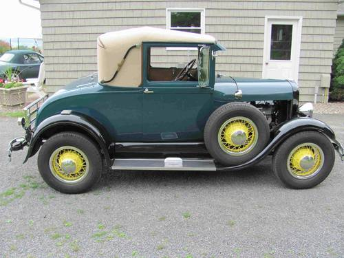 1928 Ford Model A Sport Coupe For Sale (picture 2 of 6)