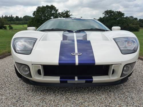 2005 Ford GT - White-Blue/Blk - 1 Owner! For Sale (picture 2 of 6)
