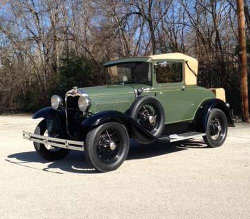 1930 Ford Model A Sport Coupe SOLD (picture 1 of 6)