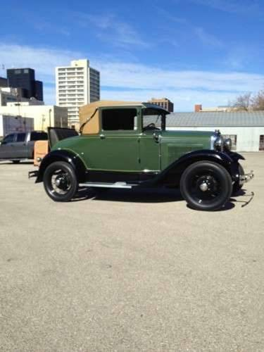 1930 Ford Model A Sport Coupe SOLD (picture 2 of 6)