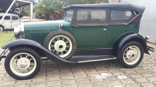 1930 Ford A 180 A Deluxe Phaeton, right hand drive For Sale (picture 1 of 6)