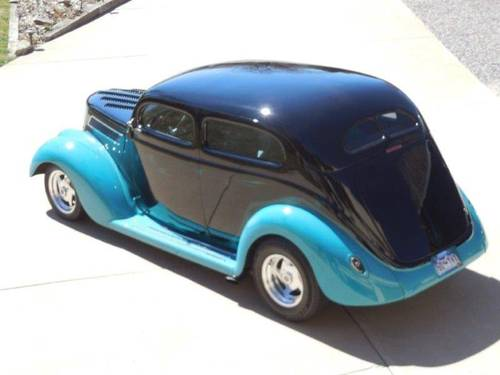 1937 Ford 2DR Slant Back For Sale (picture 2 of 6)