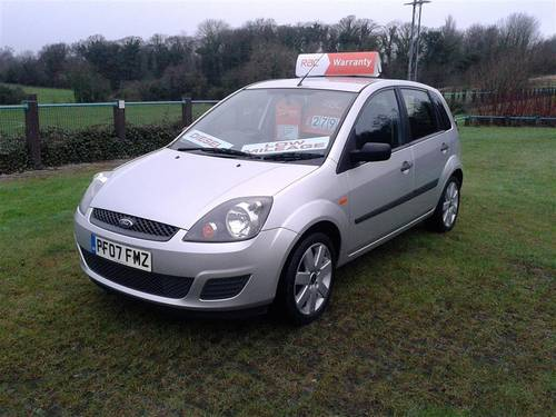 2007 Ford Fiesta 1.4 Tdci 5 Door Silver In Very good Condition! For Sale (picture 2 of 6)