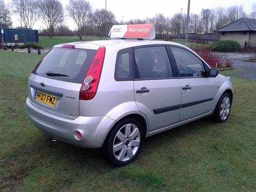 2007 Ford Fiesta 1.4 Tdci 5 Door Silver In Very good Condition! For Sale (picture 4 of 6)