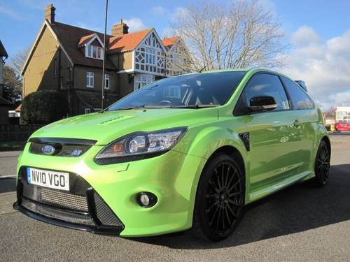 2010 IMMACULATE UNMODIFIED FOCUS RS LUX PACK 2 RS DYNAMICA SOLD (picture 1 of 6)