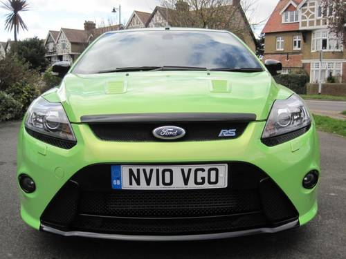 2010 IMMACULATE UNMODIFIED FOCUS RS LUX PACK 2 RS DYNAMICA SOLD (picture 3 of 6)