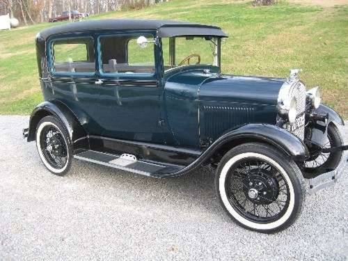 1928 Ford Model A 2DR Sedan For Sale (picture 1 of 5)