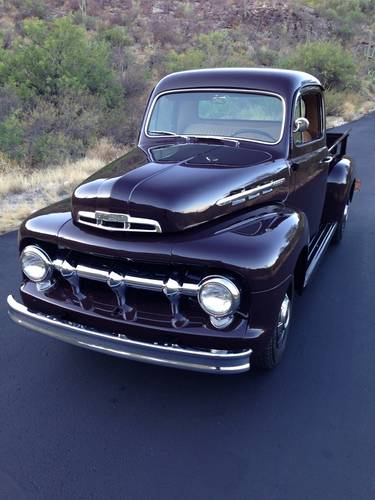 1951 Ford F2 3/4 Ton Pickup Totally Restored For Sale (picture 1 of 6)