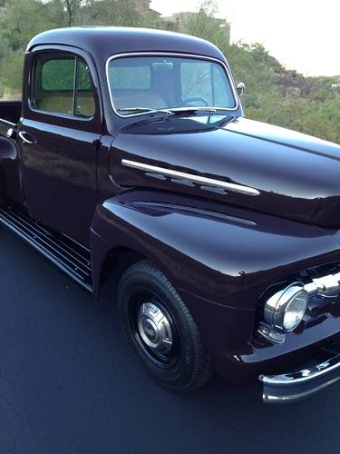 1951 Ford F2 3/4 Ton Pickup Totally Restored For Sale (picture 3 of 6)