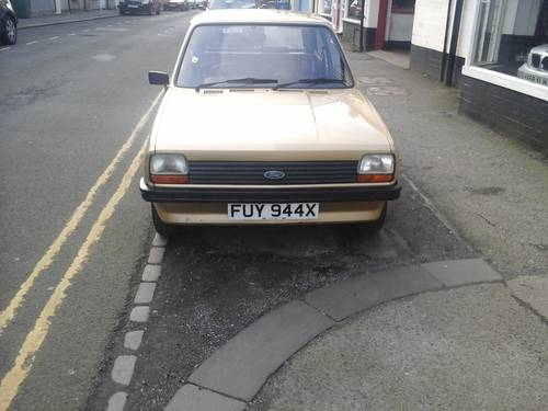 1981 W FORD FIESTA 1.1 POPULAR PLUS MK 1   For Sale (picture 1 of 4)