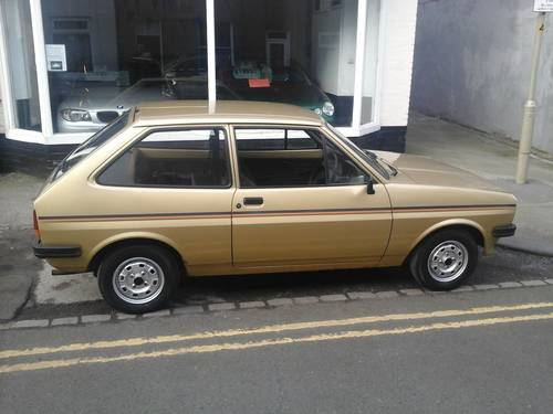 1981 W FORD FIESTA 1.1 POPULAR PLUS MK 1   For Sale (picture 2 of 4)