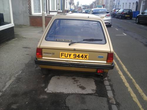 1981 W FORD FIESTA 1.1 POPULAR PLUS MK 1   For Sale (picture 4 of 4)