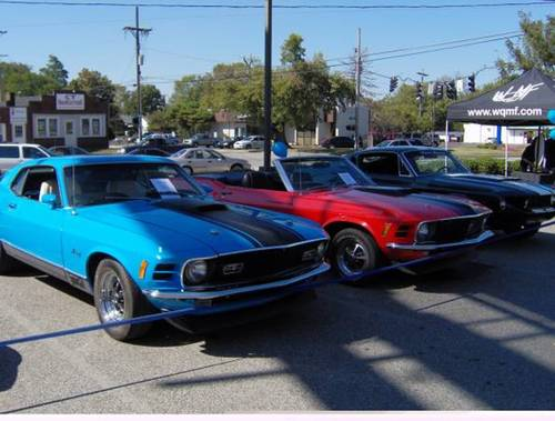 1970 Ford Mustang Mach I * Blue For Sale (picture 1 of 4)