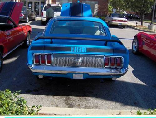 1970 Ford Mustang Mach I * Blue For Sale (picture 2 of 4)