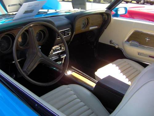 1970 Ford Mustang Mach I * Blue For Sale (picture 3 of 4)