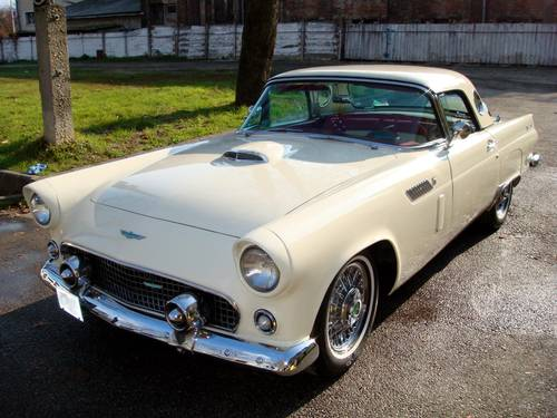 1956 Ford Thunderbird Convertible For Sale (picture 1 of 6)