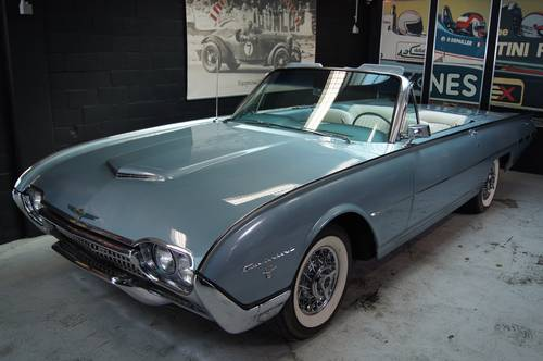 Ford Thunderbird 1962 Sport Roadster For Sale (picture 1 of 6)