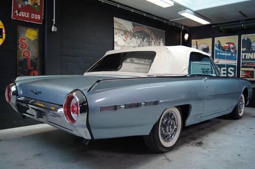 Ford Thunderbird 1962 Sport Roadster For Sale (picture 2 of 6)