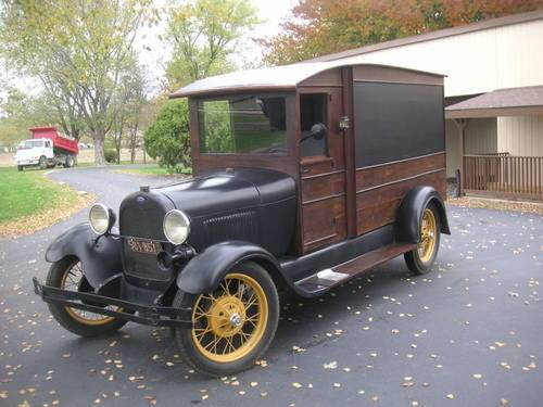 1929 Ford Model A Hearse For Sale (picture 1 of 6)