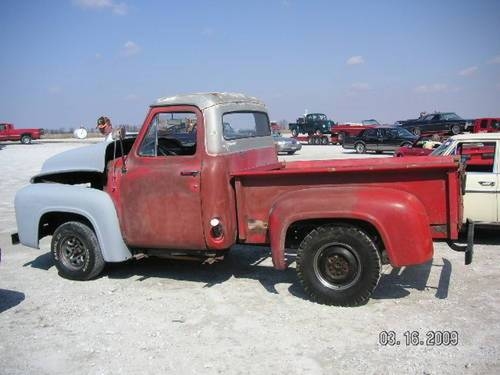 1953 Ford F100 Pickup * Project For Sale (picture 1 of 6)