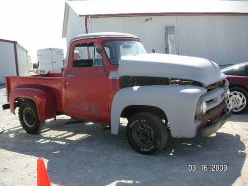 1953 Ford F100 Pickup * Project For Sale (picture 2 of 6)