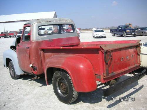 1953 Ford F100 Pickup * Project For Sale (picture 3 of 6)