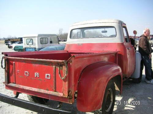 1953 Ford F100 Pickup * Project For Sale (picture 4 of 6)