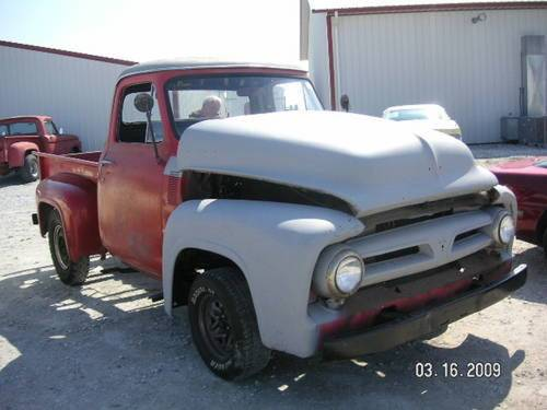 1953 Ford F100 Pickup * Project For Sale (picture 5 of 6)