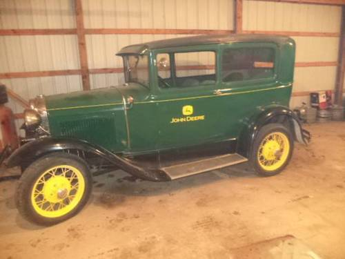 1931 Ford Model A Tudor For Sale (picture 1 of 6)