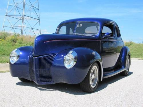 1940 Ford Deluxe 2DR Street Rod For Sale (picture 1 of 6)
