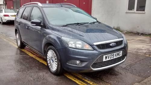2009 Ford Focus titanium 1.6 TDCi Estate For Sale (picture 1 of 6)