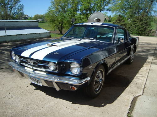 1966 1967 Ford Mustang Fastback For Sale (picture 2 of 6)