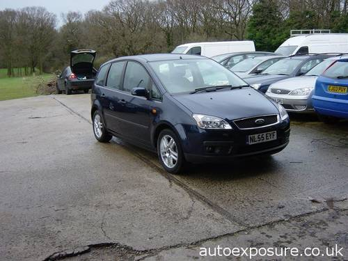2005 FORD C MAX ZETEC 1.6 PETROL LOW MILEAGE For Sale (picture 1 of 6)