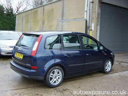 2005 FORD C MAX ZETEC 1.6 PETROL LOW MILEAGE For Sale (picture 2 of 6)
