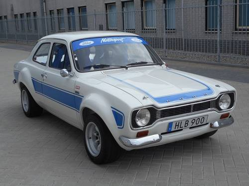 1975 FORD ESCORT RS2000 with FIA documents   For Sale (picture 1 of 6)