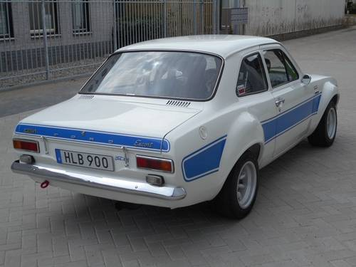 1975 FORD ESCORT RS2000 with FIA documents   For Sale (picture 2 of 6)