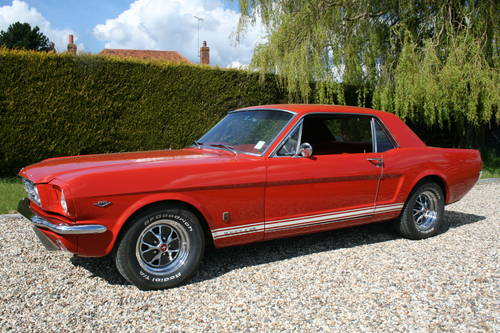 1965 Best UK buyers of Mustang V8 Coupe or Fastback  Wanted (picture 1 of 6)