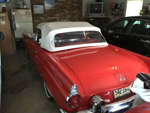 1955 Ford Thunderbird * Red For Sale (picture 2 of 6)