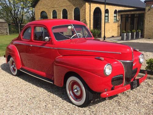 1941 Ford Super Deluxe Coupe - Flathead V8 For Sale (picture 1 of 6)