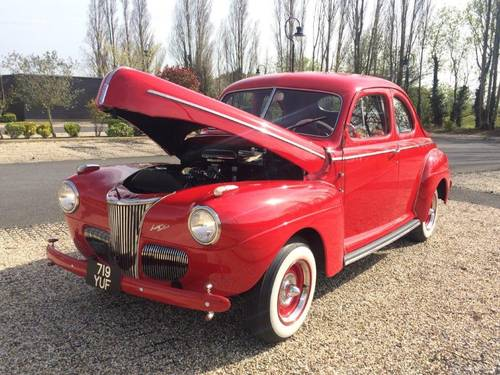 1941 Ford Super Deluxe Coupe - Flathead V8 For Sale (picture 3 of 6)