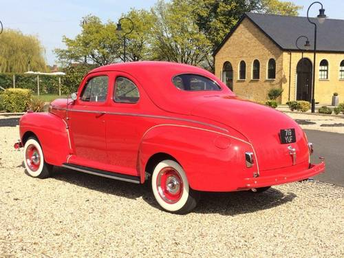 1941 Ford Super Deluxe Coupe - Flathead V8 For Sale (picture 4 of 6)