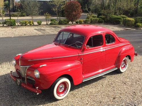 1941 Ford Super Deluxe Coupe - Flathead V8 For Sale (picture 5 of 6)