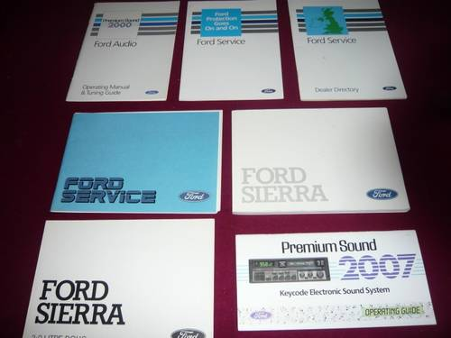 1989 Ford Sierra Sapphire 2000E DOHC. SOLD (picture 6 of 6)