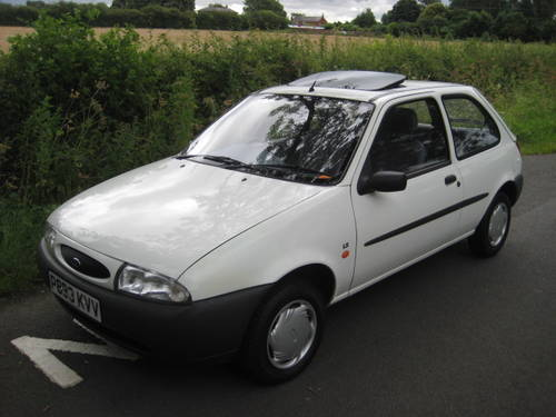 1997 Ford Fiesta 1.25 LX 3 door 33000 miles from new. For Sale (picture 1 of 6)